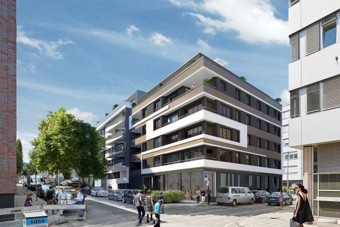 Mit dem Bau begonnen: Hohe Straße / Leuschnerstraße